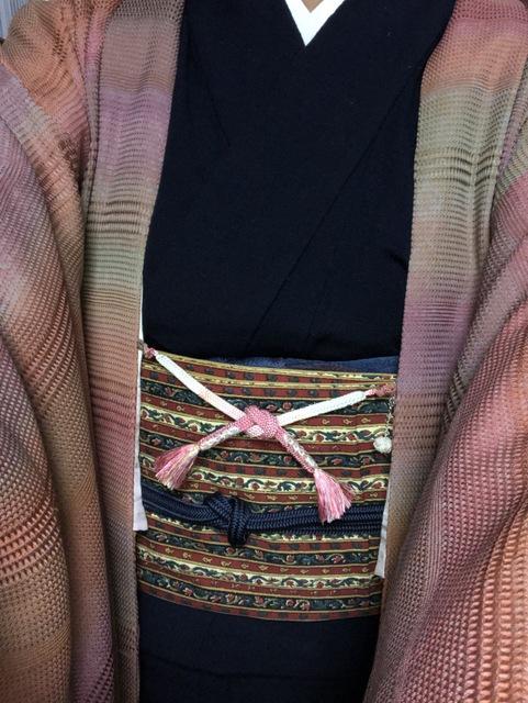 羽織紐ピンク