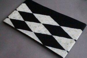 袋帯菱紋様