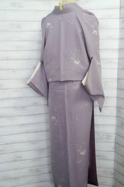 小紋の着物ことり6