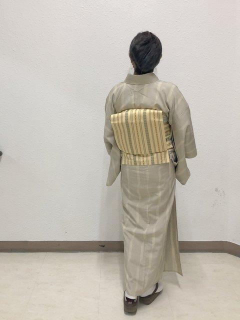 塩沢紬単衣