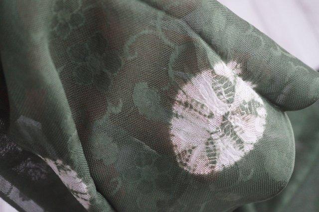 紋紗帯揚げ