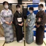 そめの近江催事―着物コーデ