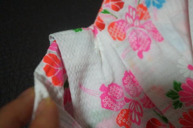 子供浴衣の畳み方。肩上げのある着物の畳み方と夜着たたみ ...